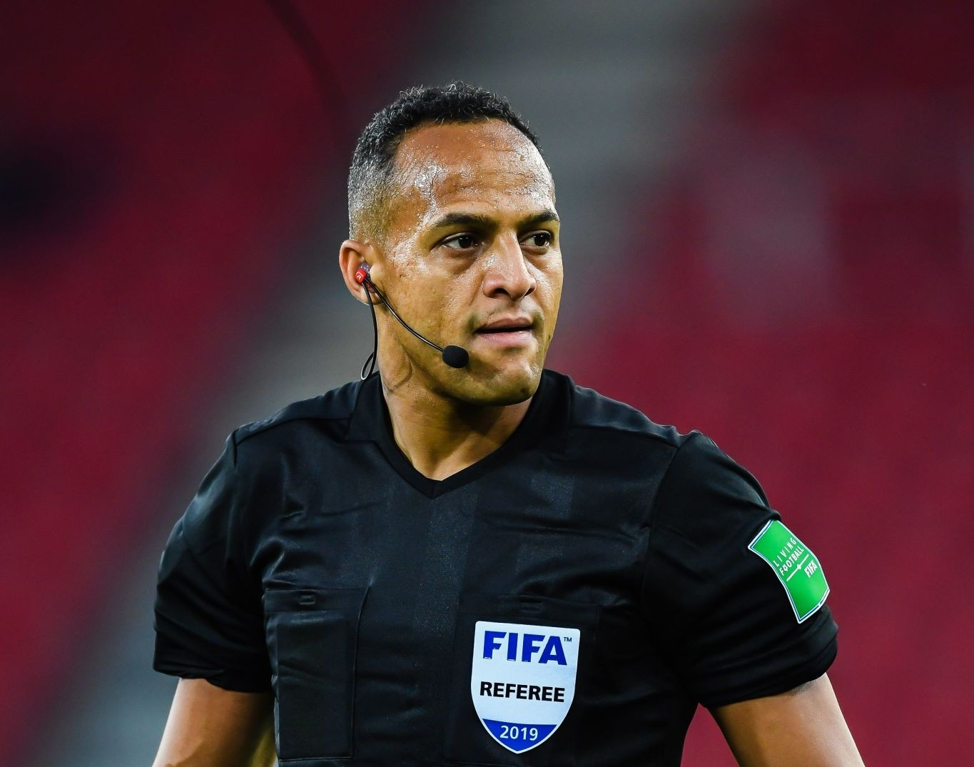 FIFA referee Ismail Elfath